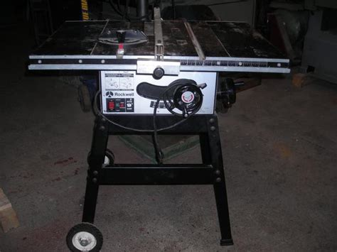 rockwell model 9 table saw rockwell 9 inch table saw outside victoria victoria mobile