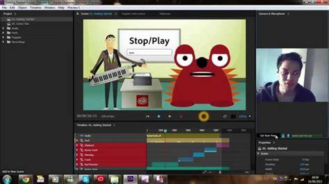 adobe character animator preview  effects cc