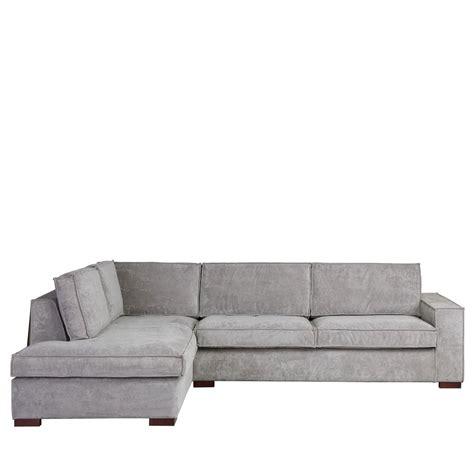 canape a angle canapé d 39 angle à gauche tissu côtelé by drawer