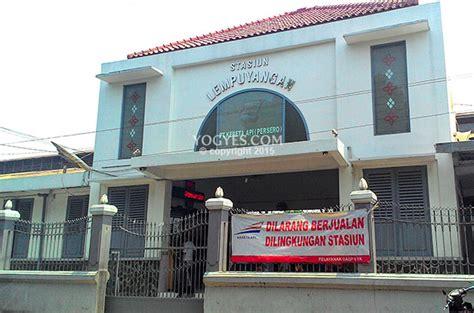 stasiun lempuyangan fasilitas umum  jogja