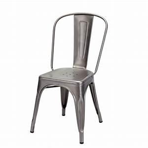 Chaise Metal Tolix : la chaise en m tal tolix ~ Teatrodelosmanantiales.com Idées de Décoration