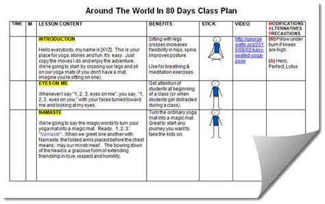 Kids Yoga Teacher Lesson Plan Kit