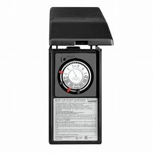 Malibu ml tl watt low voltage power pack with timer