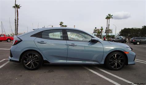 honda civic 4 door 2017 honda civic sport 6mt hatchback road test review