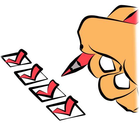 Checklist Clipart Check Clipart Checklist Pencil And In Color Check