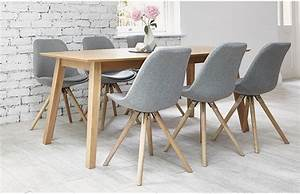 6 Seater Dining Sets - Grey - Home Furniture - Out & Out