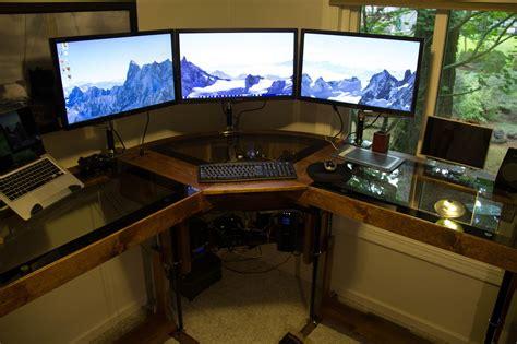 diy un magnifique bureau informatique mont 233 sur v 233 rins semageek