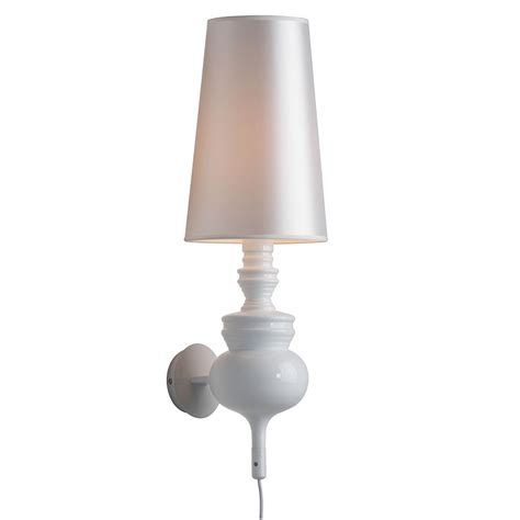 idea white contemporary wall sconce by zuo collectic home