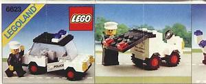 LEGO Police Car Instructions 6623, Police