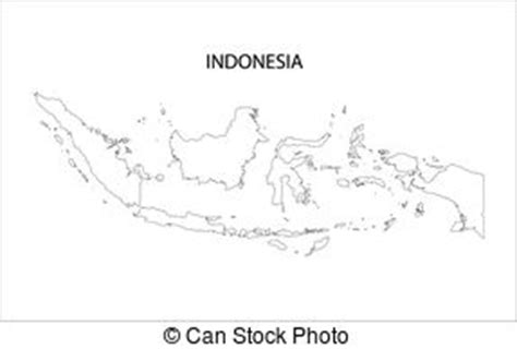 indonesia map filled  light blue gradient high