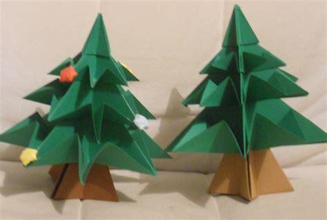 193 rbol de navidad de cartulina con origami especial