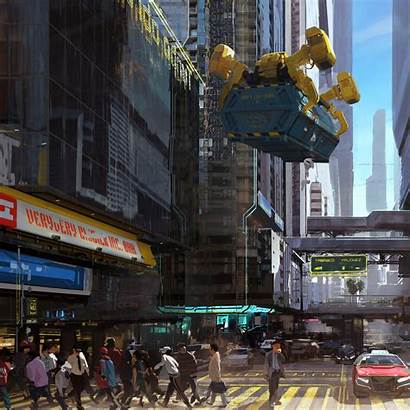 Cyberpunk 2077 Concept Wallpapers Resolution 4k Ipad