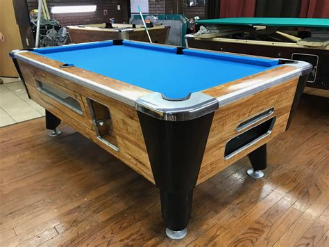 coin op pool table table 041417 valley used coin operated pool table used