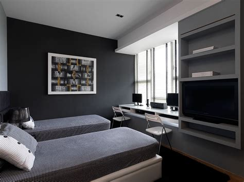 Bedroom Ideas For Condo by Condo Kitchen Design Bedroom With Study Room Design