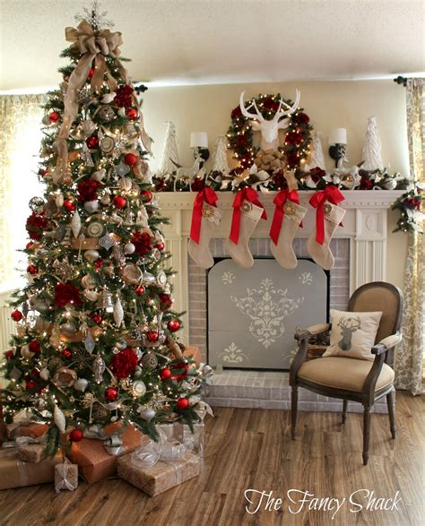 fancy shack christmas home