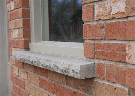 External Window Ledge by Masonry Burlington Brick Burlington Oakville