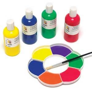 Ready Mixed Acrylic Paint Orange,Purple,Yellow,Pink,Green ...