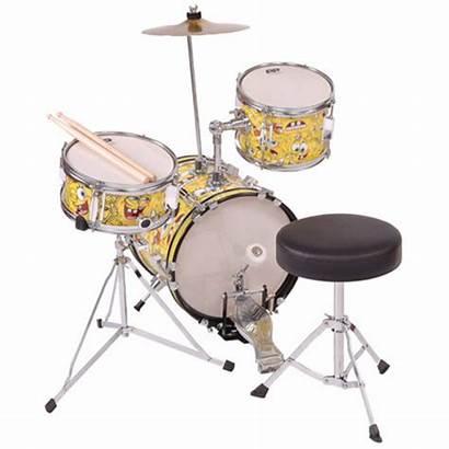 Spongebob Drum Piece Junior Squarepants Kit Drums