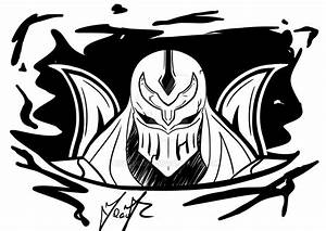 Zed Sticker by Zetsubow on DeviantArt