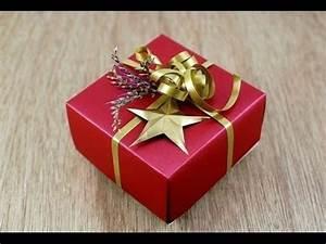 Geschenkbox Selber Basteln : geschenkbox selber basteln geschenkbox selber machen geschenkbox basteln youtube ~ Watch28wear.com Haus und Dekorationen