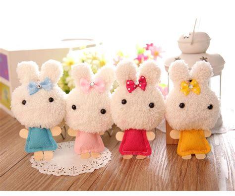 Express Rabbit Small Plush Toys Pendant Plush Dolls Bag