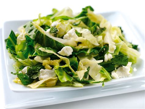cooked cabbage wilted greens with feta cheese and mint riviera produce cornwall s grower of choice
