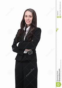 Portrait Of A Woman Lawyer In A Business Suit Stock Photo ...