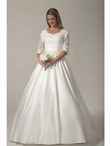 2017 vintage modest wedding dresses with 3 4 sleeves With modest wedding dresses with 3 4 sleeves