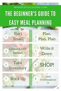 The Beginner U0026 39 S Guide To Meal Planning
