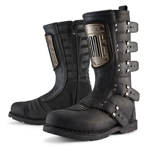motorbike footwear icon 1000 elsinore hp boots revzilla