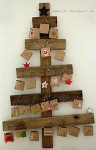 Adventskalender Holz Baum : adventskalender basteln 30 originelle ideen mit anleitung ~ Watch28wear.com Haus und Dekorationen