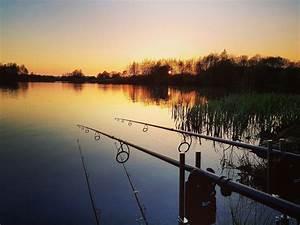 Word Spring Stunning Sunset Tonight Uk Carp Coarse Fishing