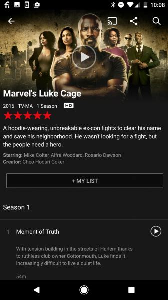find netflix  hdr content  play