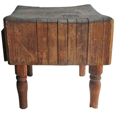 Antique Butcher Block Table  Butcher Block Tables, Block