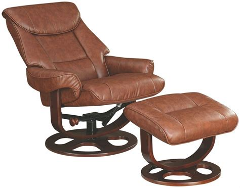glider recliner with ottoman 600087 brown glider recliner with ottoman from coaster