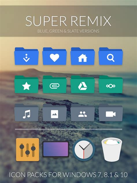 super remix icon packs  niivu  deviantart