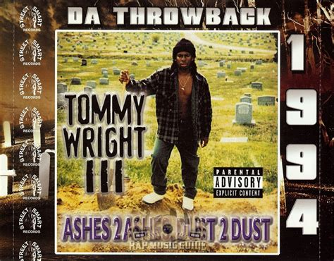 tommy wright iii ashes  ashes dust  dust cd rap