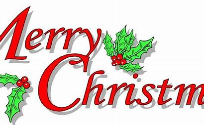 Merry Christmas Clipart Clip Blessed Animated Happy