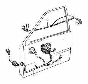 Volvo 740 Wiring Harness  Genuine Classic Part  Door