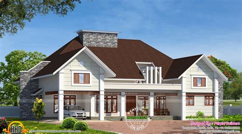 style home plans with courtyard bungalow house in kerala kerala home design and floor plans