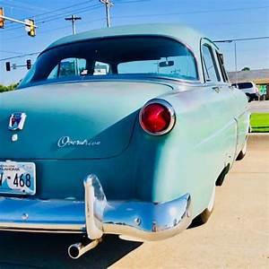 1952 Ford Customline V8 4 Blue