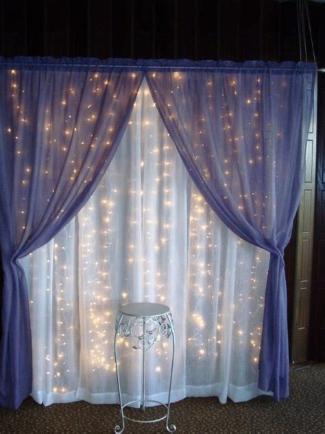 Backdrops How To Make by How To Make Wedding Backdrops 50 Wedding Backdrop Ideas