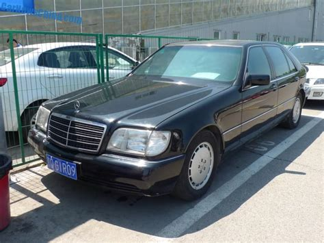 Spotted In China A Perfect W140 Mercedesbenz S500