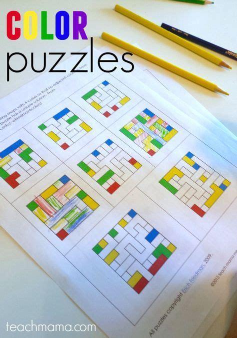 color puzzles fun math  logic  kids  images