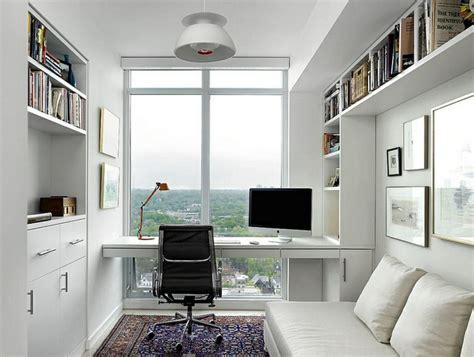 petit bureau moderne bureau scandinave 50 idées pour un coin de travail pratique
