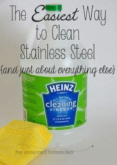 microfiber cleaner vinegar cleaning on black appliances cleanses and