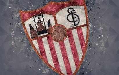 Sevilla Fc Football Club 4k Creative Spanish