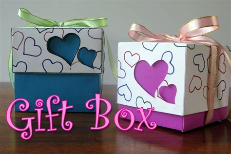 how to make a day gift diy crafts hearts gift box ana diy crafts youtube