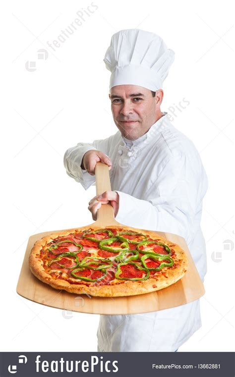 People At Work: Pizza Chef   Stock Photo I3662881 at