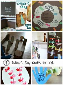 8 Father's Day Paper Crafts for Kids - The Papery Craftery